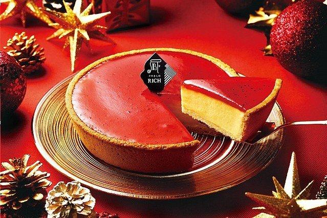 【うまそ】パブロから、真っ赤なクリスマス限定チーズタルトが登場!濃厚でなめらかなチーズタルトと、いちごの甘く優しい酸味&種のつぶつぶ食感の組み合わせが絶妙な一品。12月1日発売。