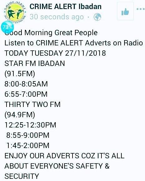Crime Alert Ibadan (@CrimeAlert_IB) | Twitter