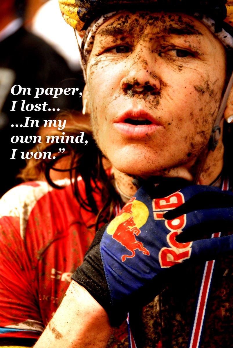 Rebecca Rusch's photo on #motivationmonday
