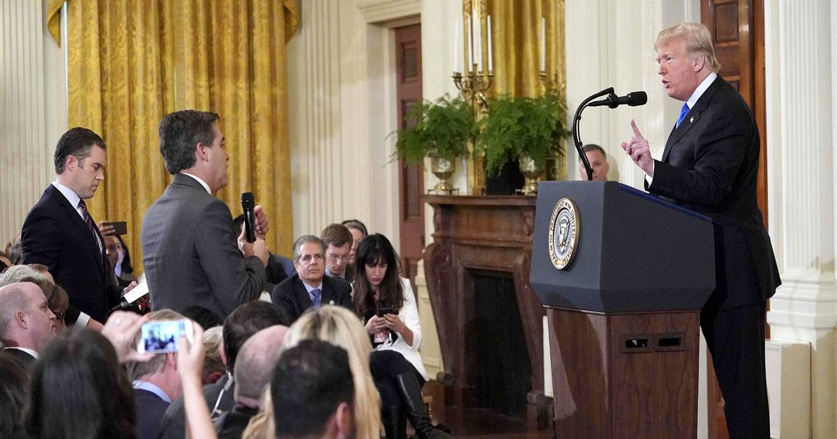White House reverses course, permanently restores Jim Acosta's press pass  https://t.co/lmuTKBFHBF