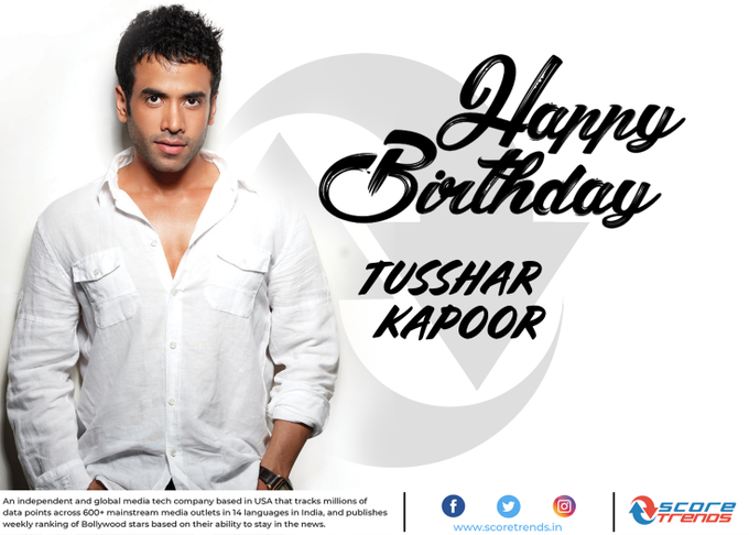 Score Trends wishes Tusshar Kapoor a Happy Birthday!!