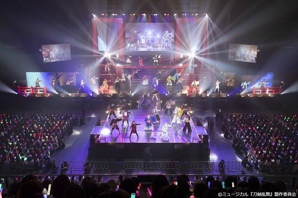 \12月放送/ 「ミュージカル『刀剣乱舞』」 2.5次元作品で屈指の人気を誇るシリーズ ミュージカル