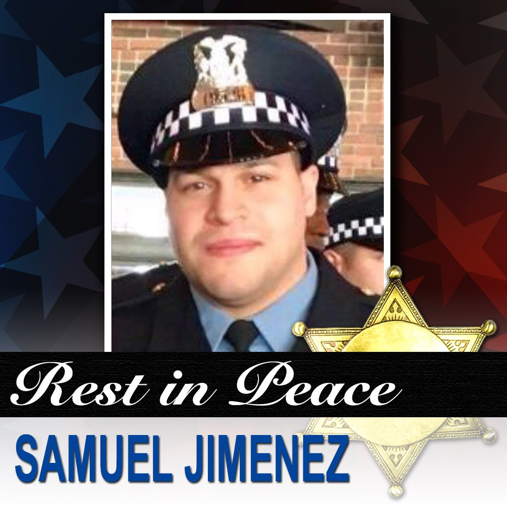 END OF WATCH: Chicago Police Officer Samuel Jimenez rushed into Mercy Hospital after reports of shots being fired. He ran towards the gunman to try to stop him but was shot and killed. He gave his life in the line of duty and we should never forget. MORE:  https://t.co/FKKD6wJXgC