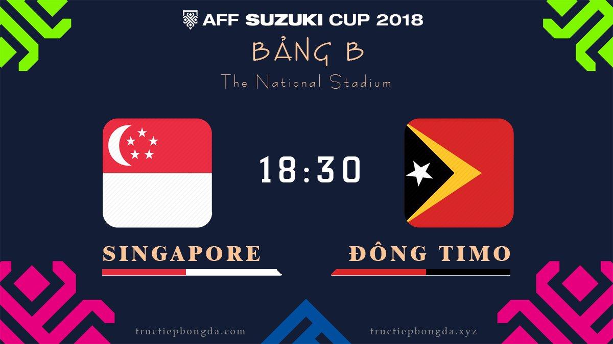 Singapore vs Đông Timor