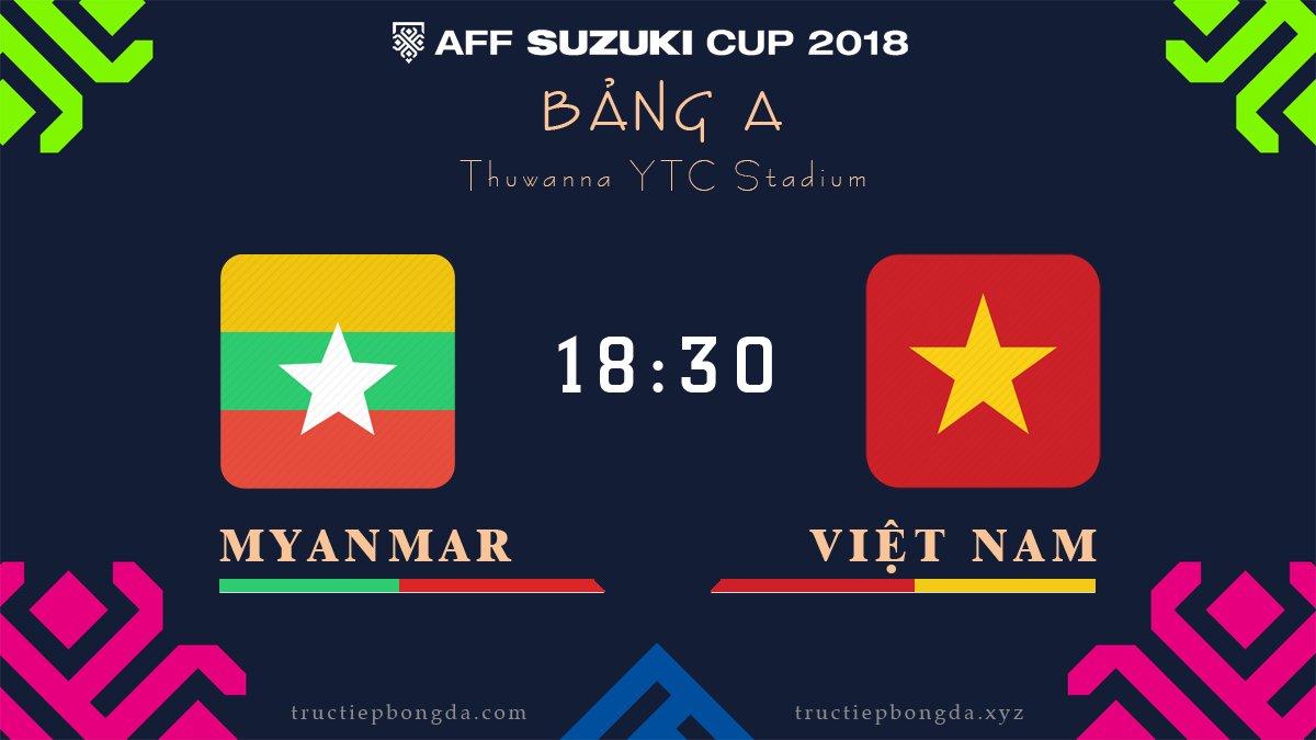 Myanmar vs Việt Nam