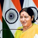 Sushma Swaraj Twitter Photo