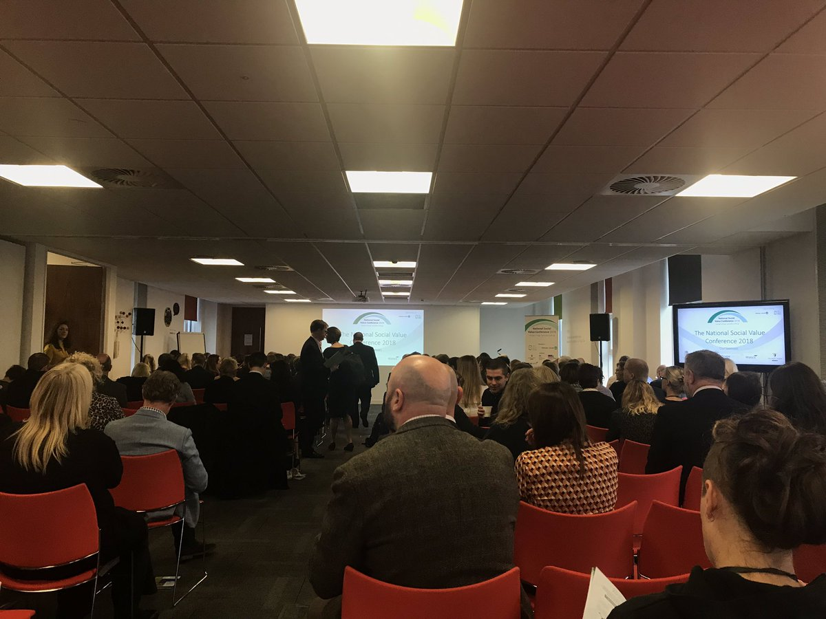 National @socialvalueuk conference is getting underway in Manchester. @Scape_Group @balfourbeatty @WatesGroup @GFTomlinson  @socialvalueport