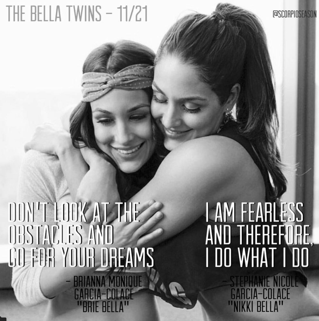 Happy Birthday to Nikki and Brie Bella