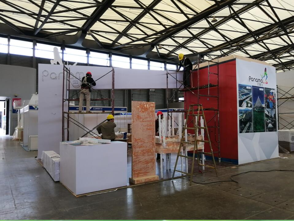Exhibition Booth Contractor Hong Kong : Origami exhibition stand design and construction exhibit booth