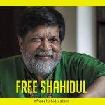 Image for the Tweet beginning: Bangladeshi photograhper Shahidul Alam is