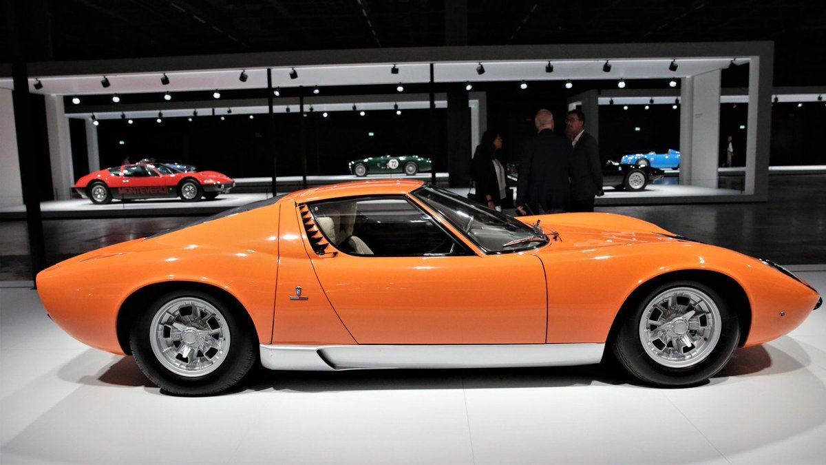 Francis Boodts On Twitter A Lamborghini Miura Which Appeared At