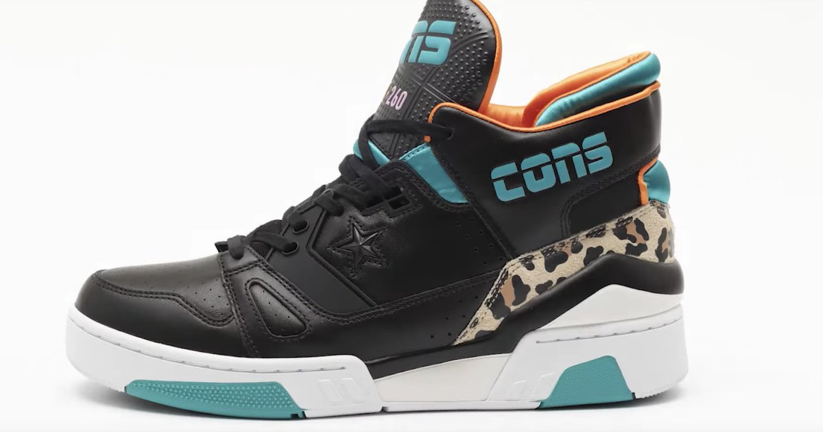 5fc8cd8487435 Converse : VIDEO Converse collaborate updated ERX basketball sneaker ...