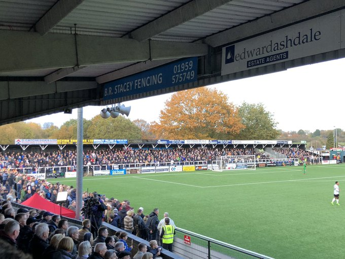 🏟️Attendances 🏟️ The #FACup First Round weekend saw a huge rise in attendances for Clubs within The National League. Of the 15 VNL Clubs to play at home, 13 saw an increase compared to their current League average. 👏Matches at Hayes Lane and the Beveree Stadium were sold out! Photo