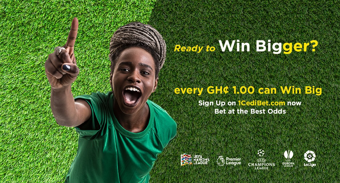 With us, every Cedi counts  Everyone can win Bigger on http://www