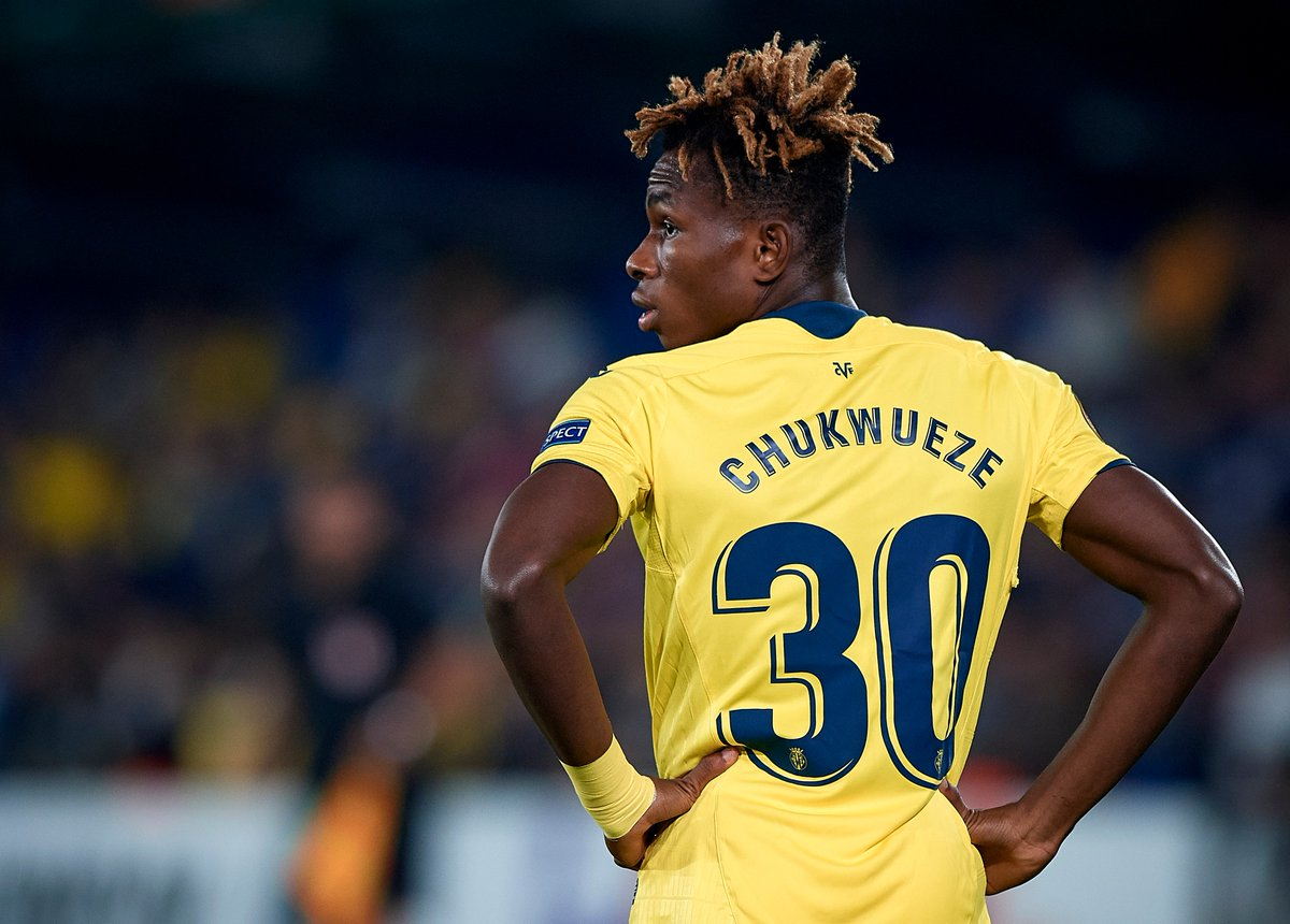 """🕵️♂️ #UEL scout 🇳🇬 Samuel Chukwueze  Position: Winger Club: @VillarrealCF   🗣️ """"Chukwueze has a good left foot, is quick, has a low centre of gravity."""" (Gernot Rohr, Nigeria coach)"""