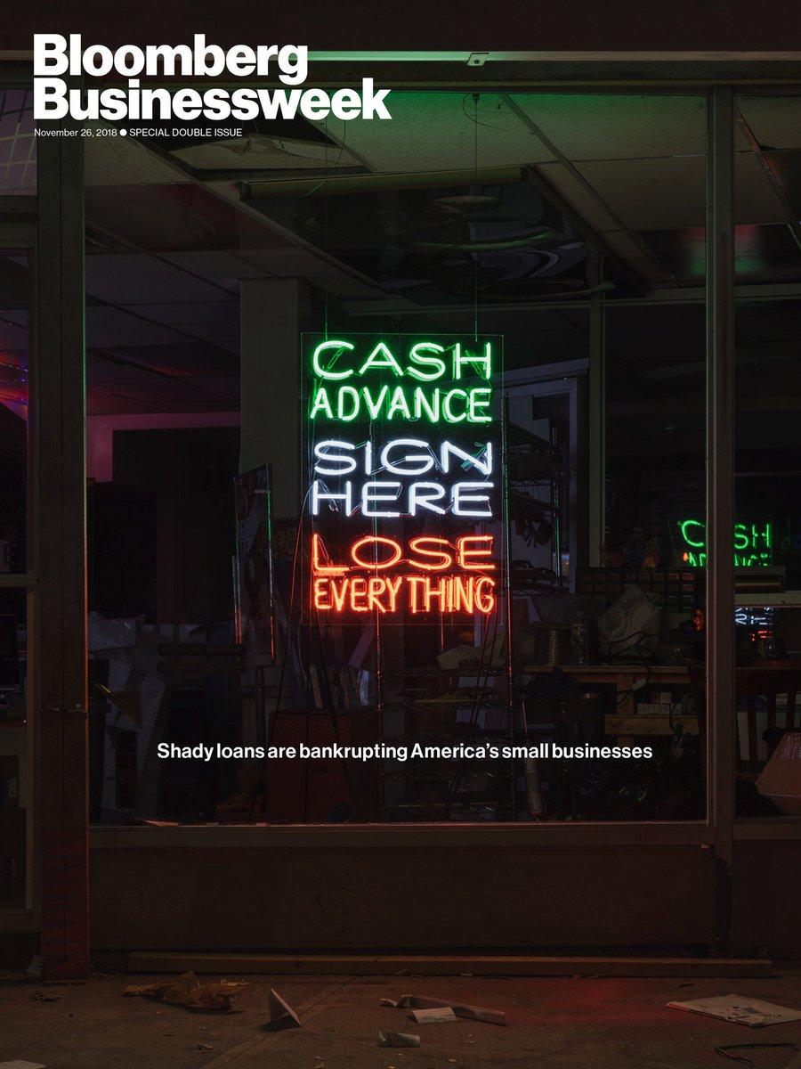 NEW COVER: The predatory lending machine crushing small businesses across America https://t.co/8ZENeCSaLz https://t.co/fz2UMiH5pR