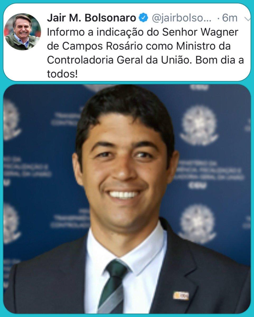 Eduardo Bolsonaro 17's photo on Wagner Rosário