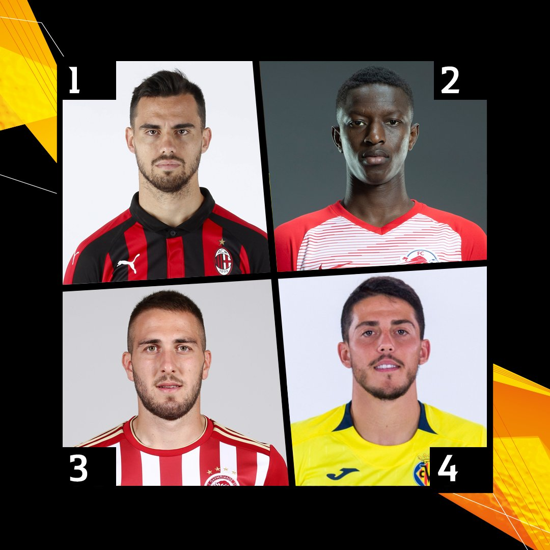 Which of these midfield maestros is having the most impressive season? 🤔  1. Suso 2. Haidara  3. Fortounis 4. Fornals   #UEL