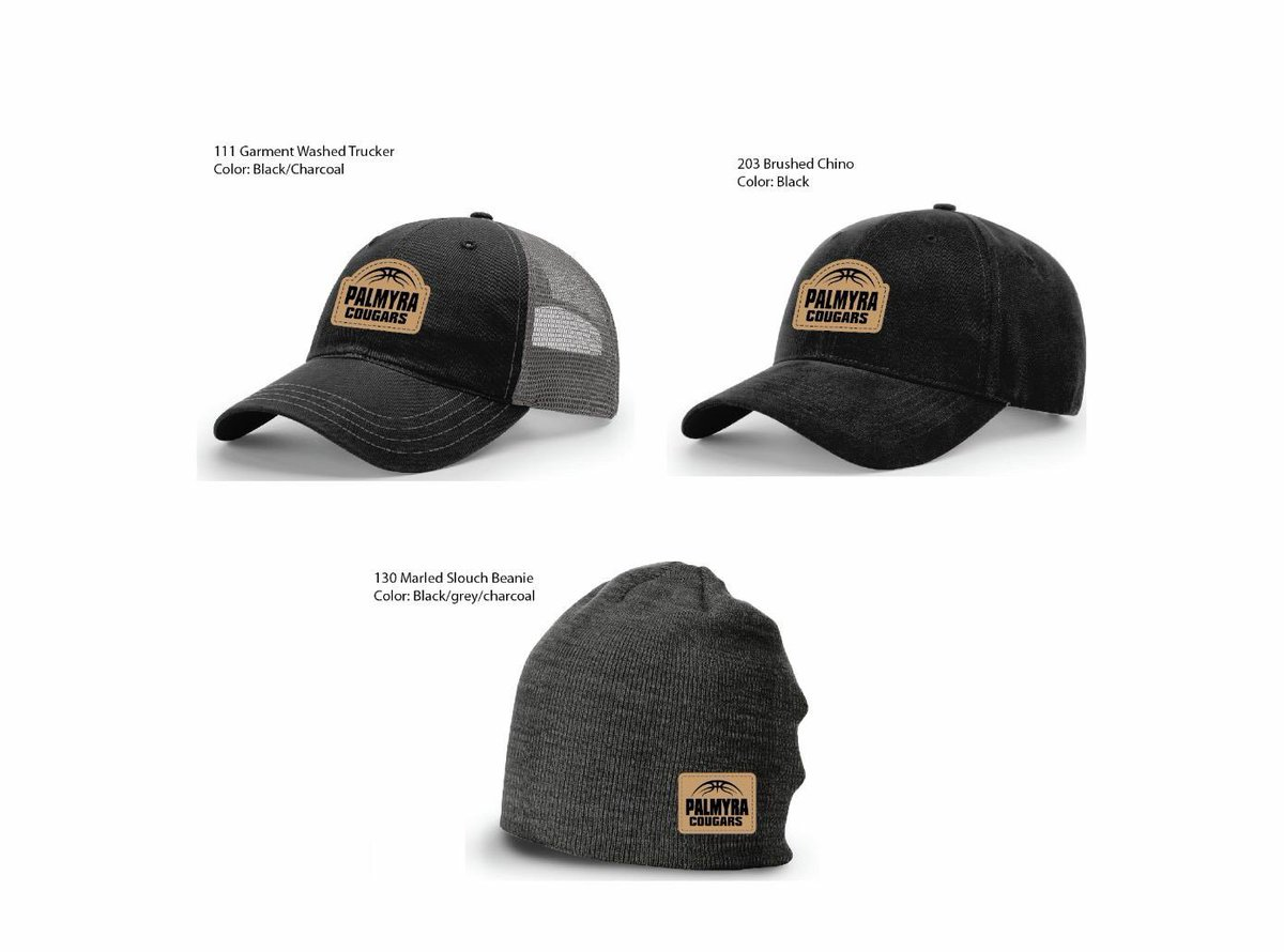 e84191a53e0 Just added 3 hat options to our Palmyra Lady CougarGear web store! Trucker