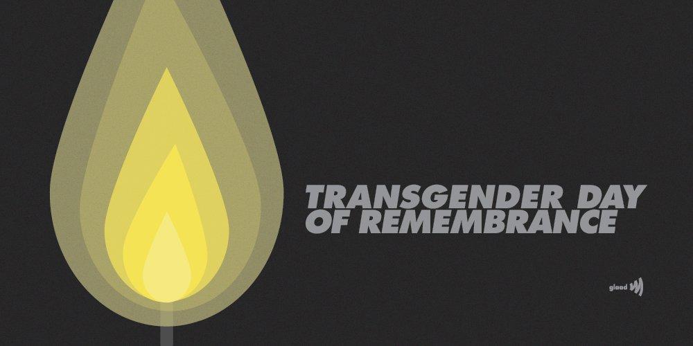 GLAAD's photo on #TDOR