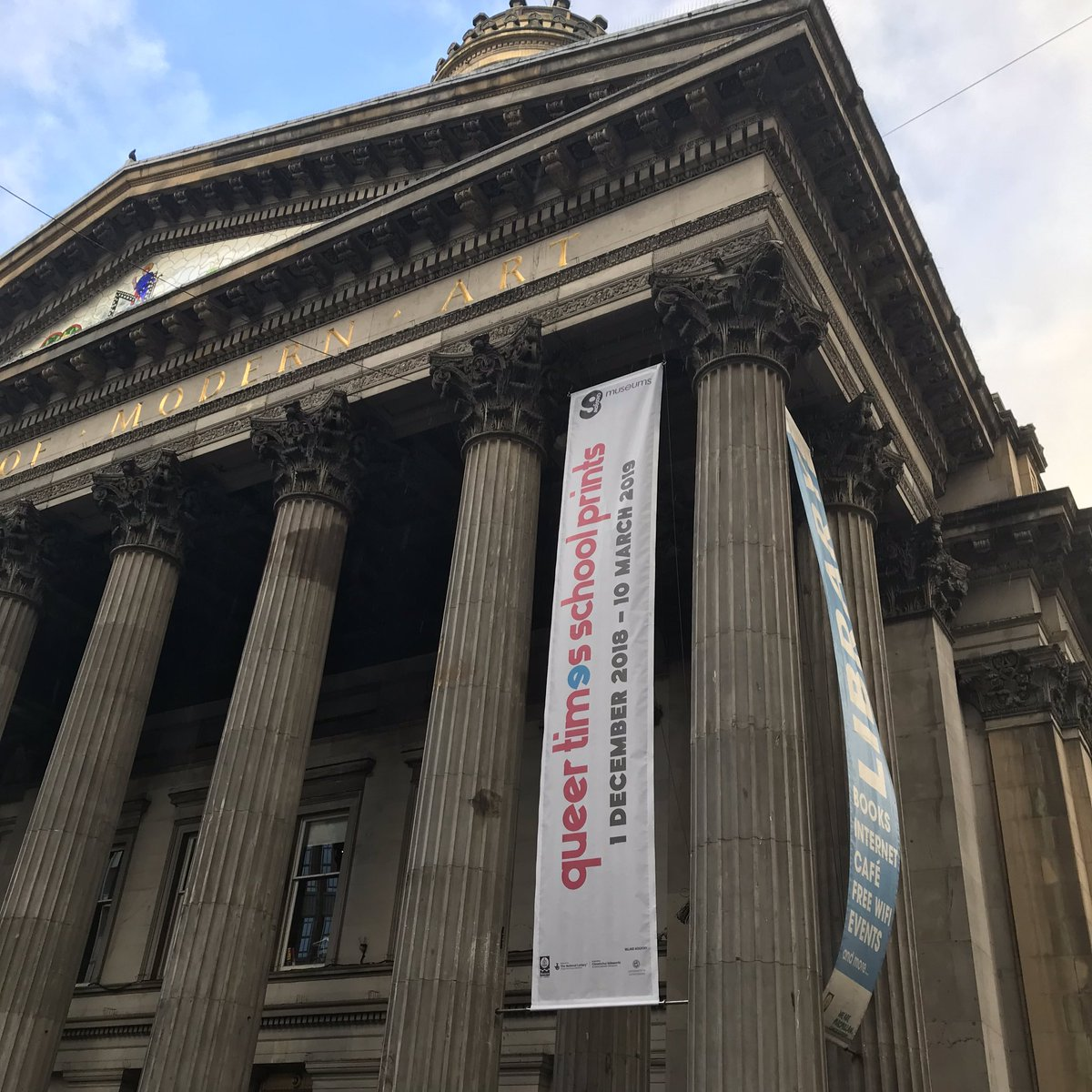Goma Glasgow On Twitter Banner Up Queertimesschoolprints