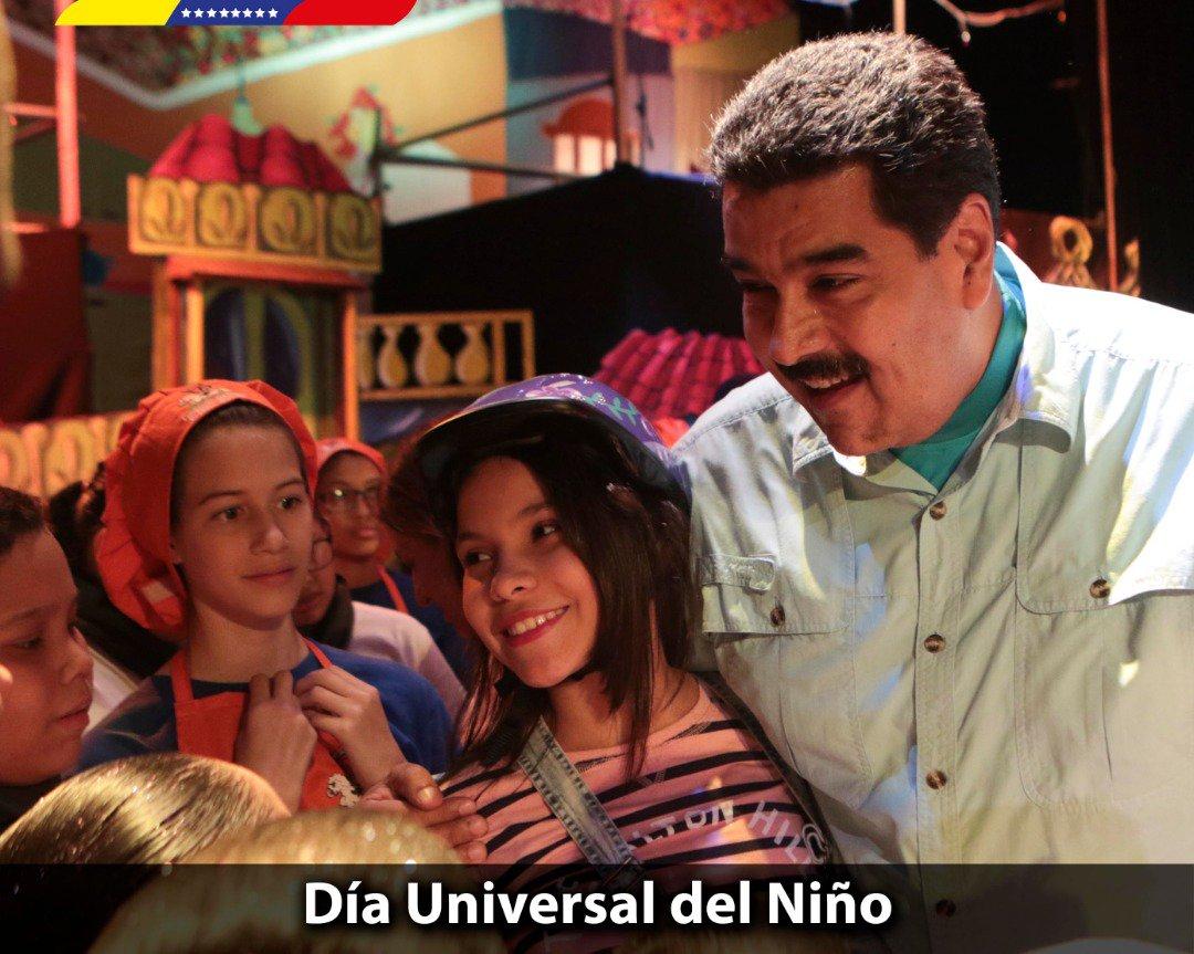 Nicolás Maduro's photo on Día Universal del Niño