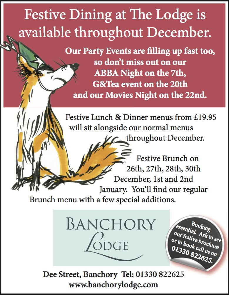Banchory Lodge Hotel On Twitter We Re Gearing Up For The Silly