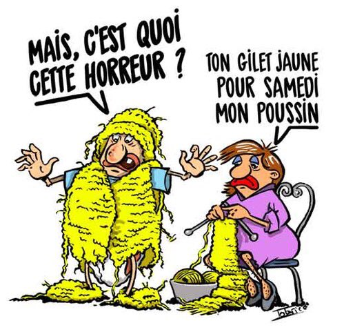 "FabriceGreg on Twitter: ""#giletjaune #tricot #manifestation ..."
