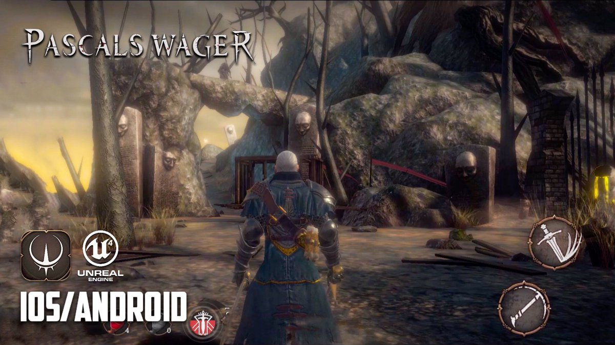 PASCALS WAGER by @wager_the - iOS / Android - GAMEPLAY