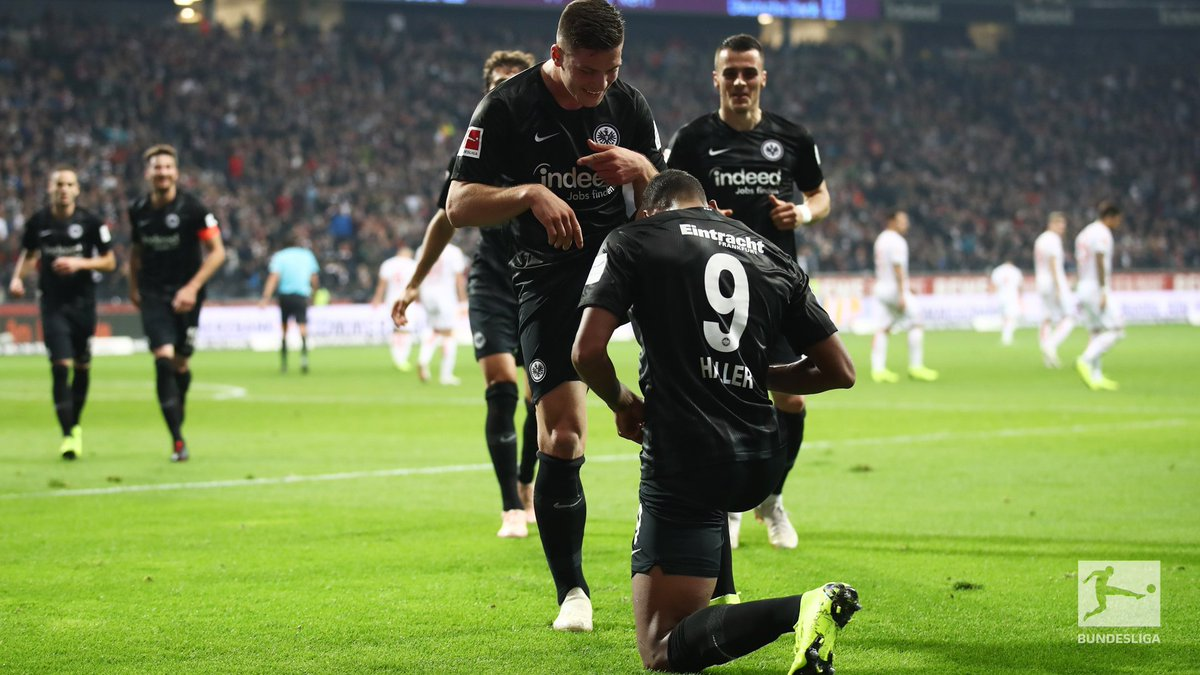 Step aside Ronaldo and Mandzukic, Jovic and Haller are leading the race for Europes deadliest duo ⚔️ More here 👉 bndsl.ga/JovicHaller