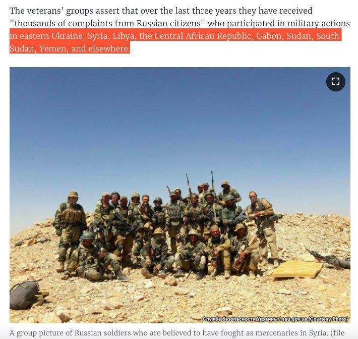 حكاية المرتزقة الروس الذين يقاتلون في سوريا وافريقيا وأوكرانيا Dsckt0oXgAEVhEL