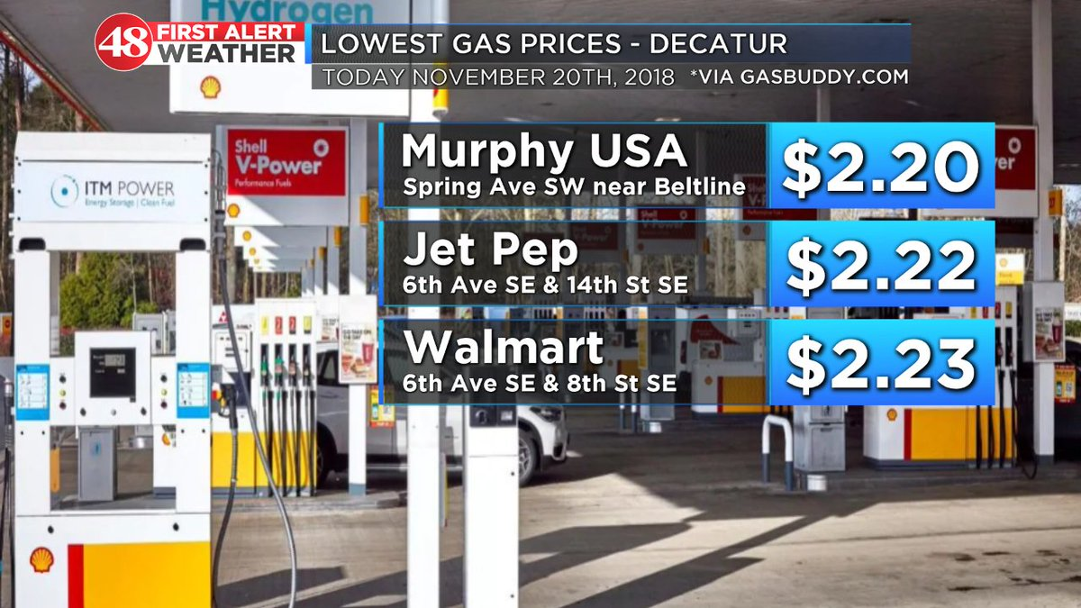 Walmart Gas Prices Near Me >> Brandon Spinner Waff On Twitter Looking To Fill Up Your
