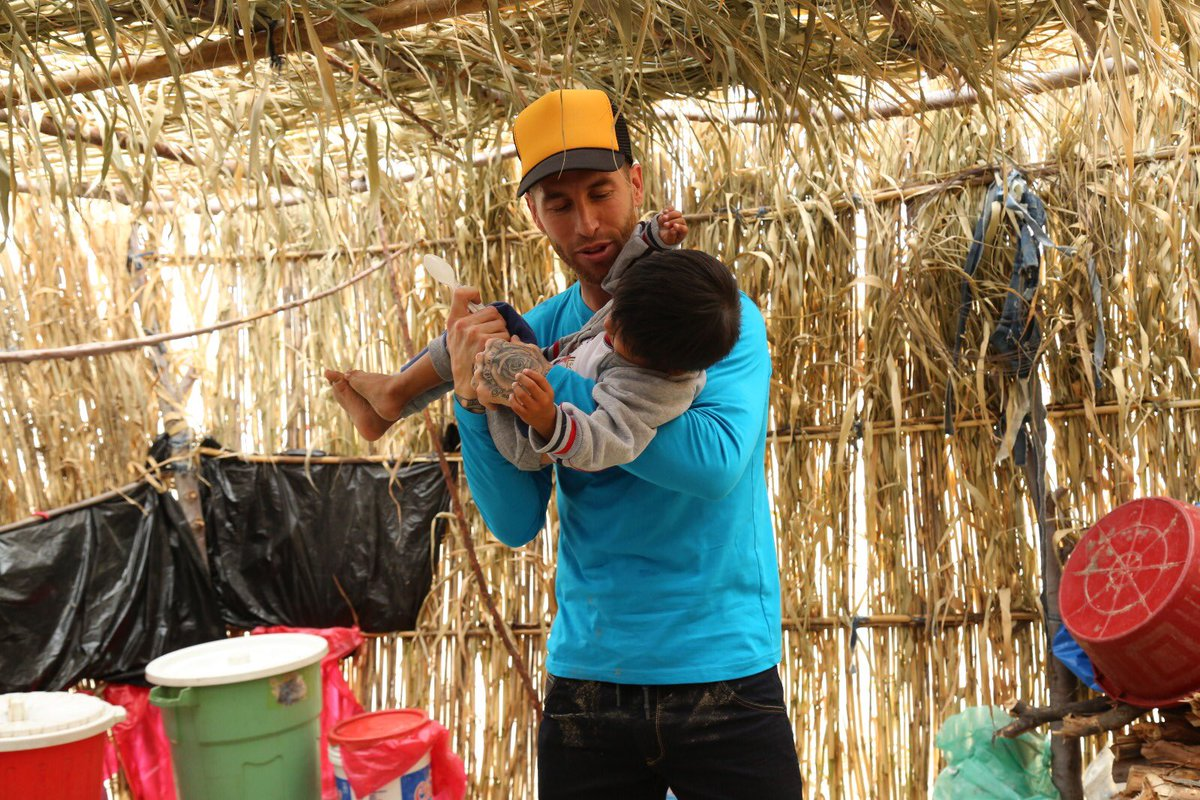 Sergio Ramos's photo on #DiaMundialdelosNiños