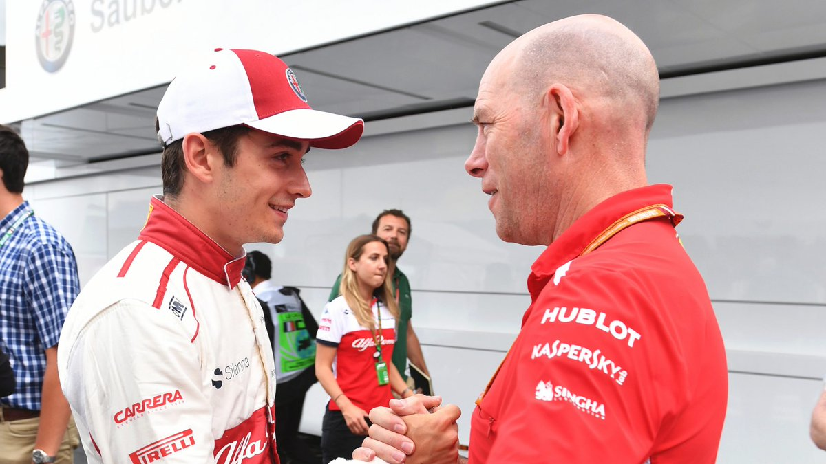 Preparations are underway for @Charles_Leclerc's arrival at @ScuderiaFerrari and it's fair to say everyone there is quite excited >> https://f1.com/LEC-Clear #F1