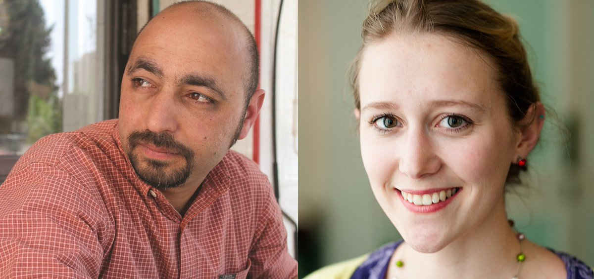 test Twitter Media - Hear Phoebe Power (winner of the 2018 @ForwardPrizes Felix Dennis Prize for Best First Collection) read alongside celebrated Jordanian poet Hisham Bustani on a rare visit to the UK. Weds 5 December @ The Poetry Café: book your ticket at https://t.co/uH8x9GP9ST https://t.co/CtCdtkAx8i