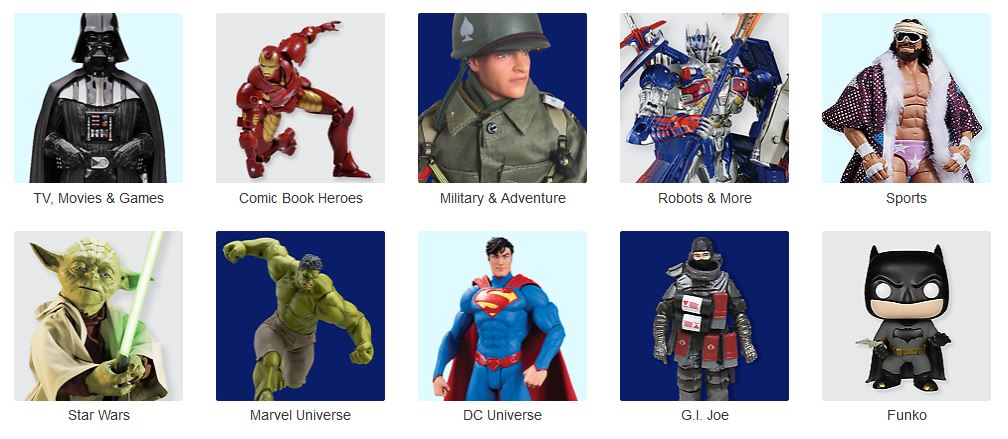 Satisfy your #Action fix with a #awesome selection of #actionfigures, find the perfect one or the One you have been looking for with #fast and #freeshipping just a click away >>>>>https://t.co/agBRZW4S8Q  https://t.co/KJoIuVekLP
