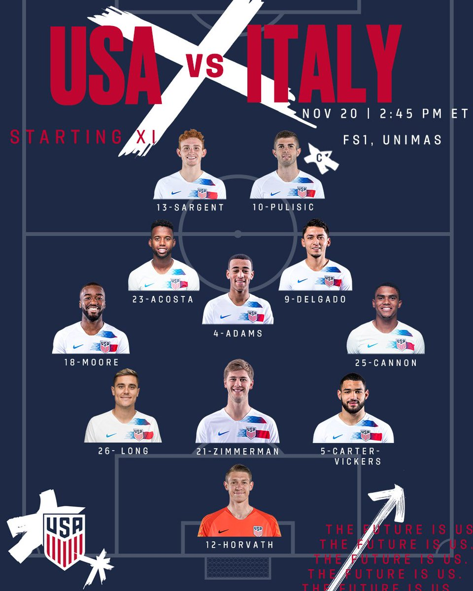 U.S. Soccer MNT's photo on #USMNT