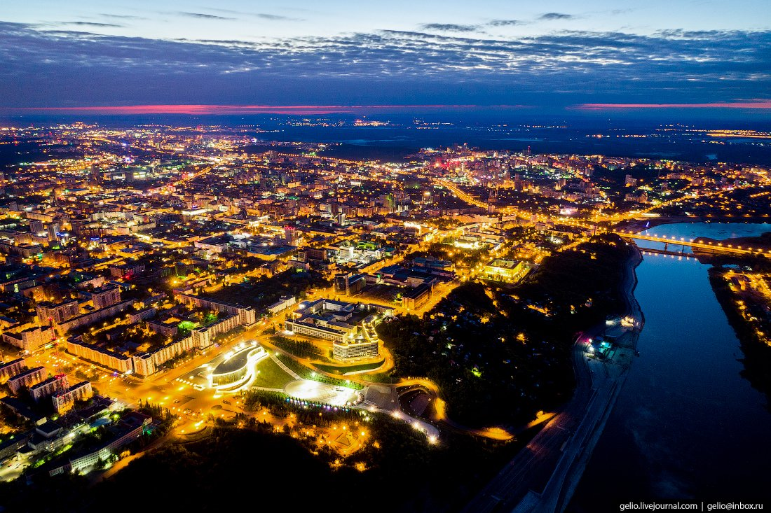 картинки ночного города уфа конструкция брекетов