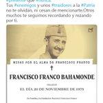 #EnterrarElFranquismo Twitter Photo