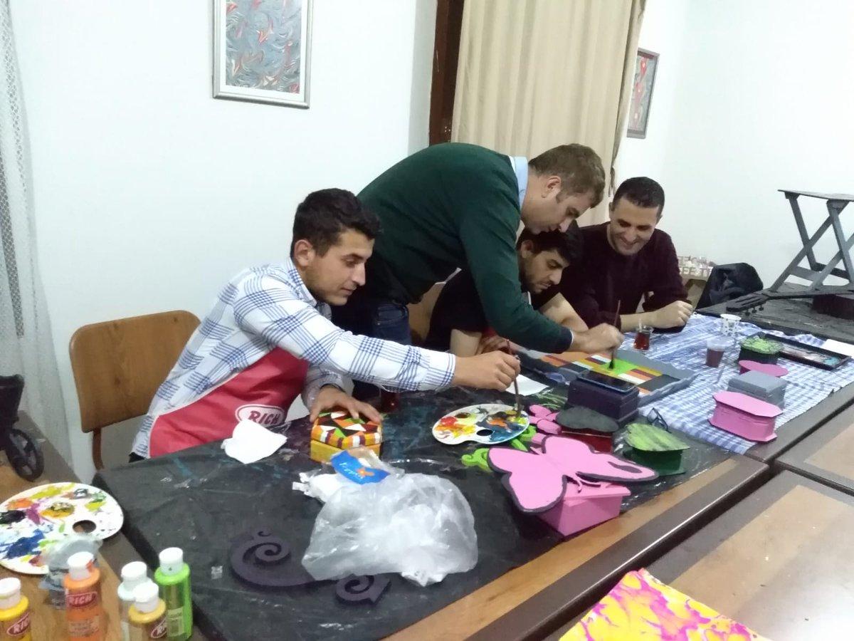Kyk Diyarbakır On Twitter Mehmet Akif Ersoy Yurdunda Ahşap Boyama