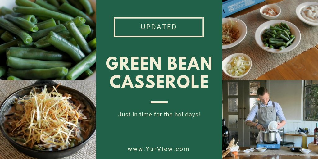 Take your green bean casserole to the next level with this updated recipe. https://t.co/3u2x9Da97m https://t.co/NQQV1vaDzx