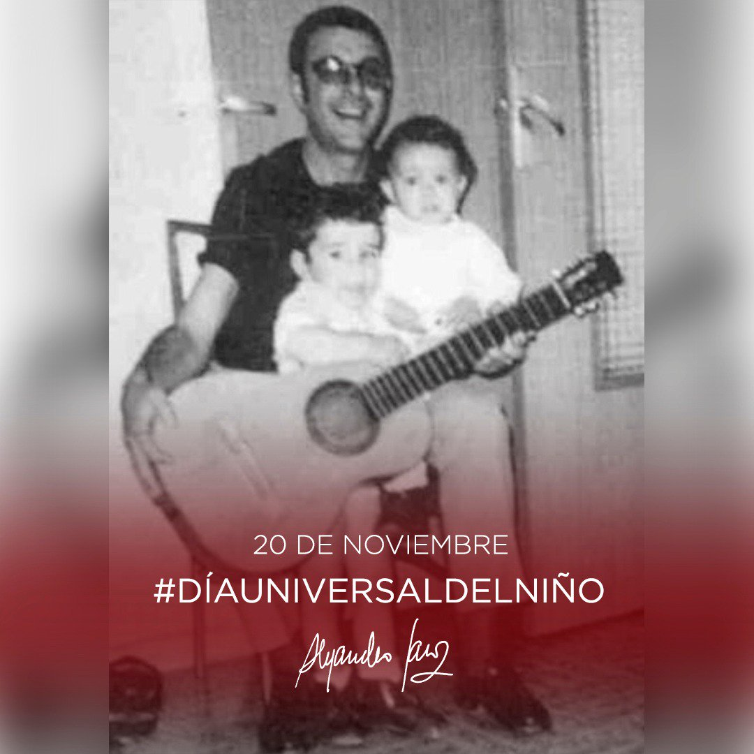 Alejandro Sanz's photo on #DíaUniversalDelNiño