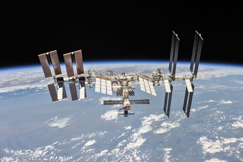 NASA's photo on #SpaceStation20th