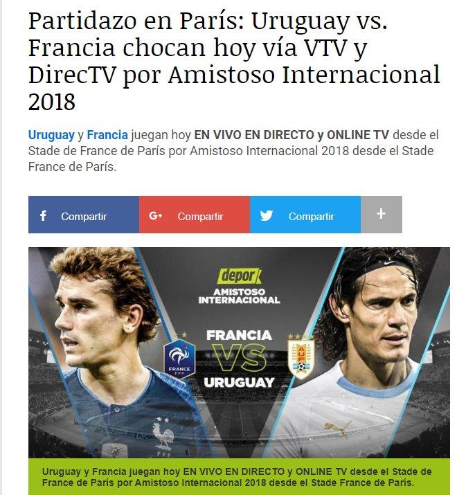Y POR ÚLTIMO: JUEGA URUGUAY ante el combinado campeón del mundo. No me gustaría estar en los zapatos de alguien que haya entrado en coma supongamos que el año pasado, se despierta, pone el partido y dice: la mierda, están Suárez, Cavani, Cáceres y 8 ciudadanos, @LuboAdusto