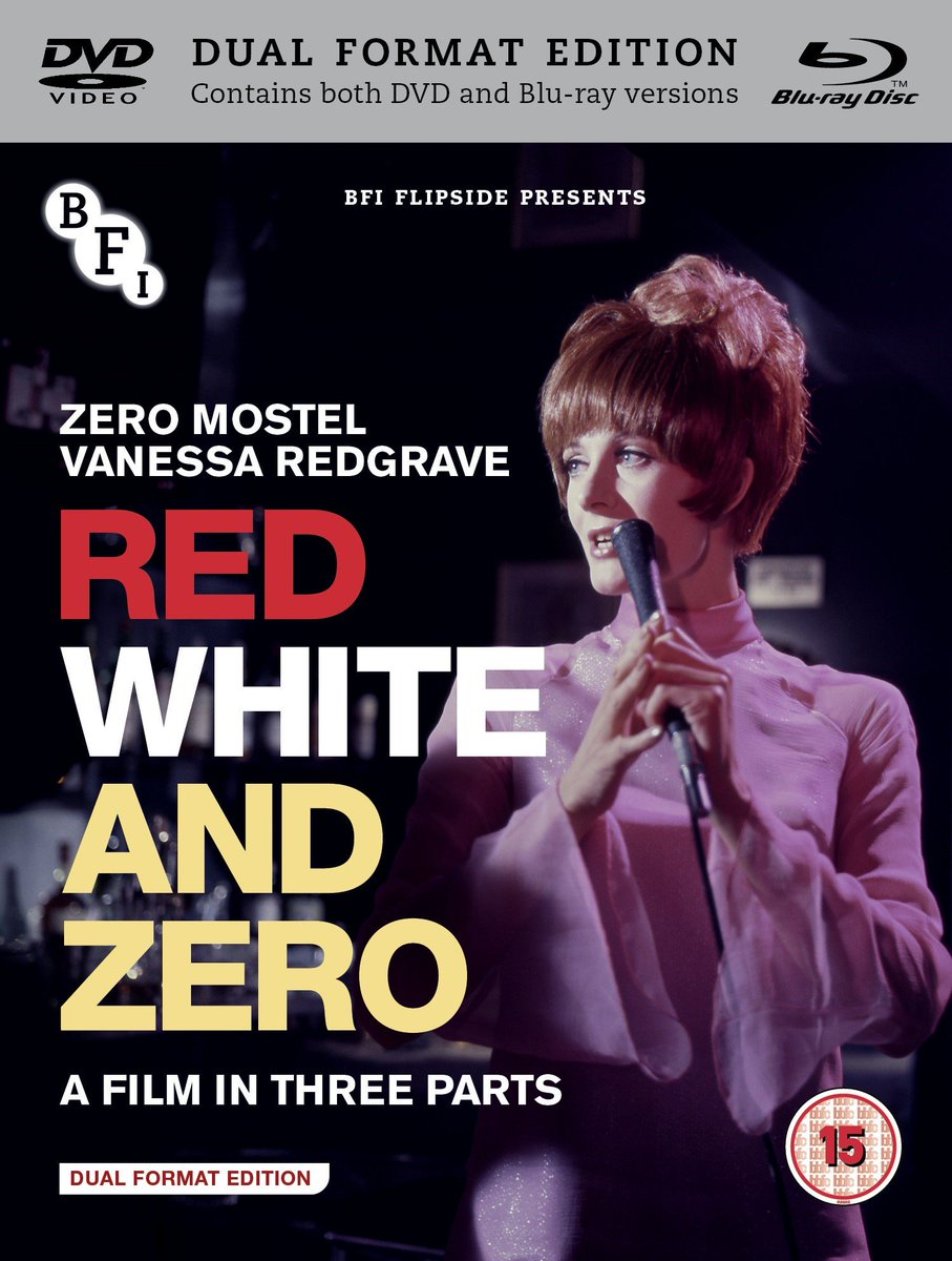 Another revelation from @bfi #Flipside Red White and Zero a three-part film directed by Peter Brook, Lindsay Anderson & Tony Richardson. Trailer here: youtu.be/KnQpxCN_SgQ Out 10 December 2018 with multiple extras including a new interview with editor Kevin Brownlow!