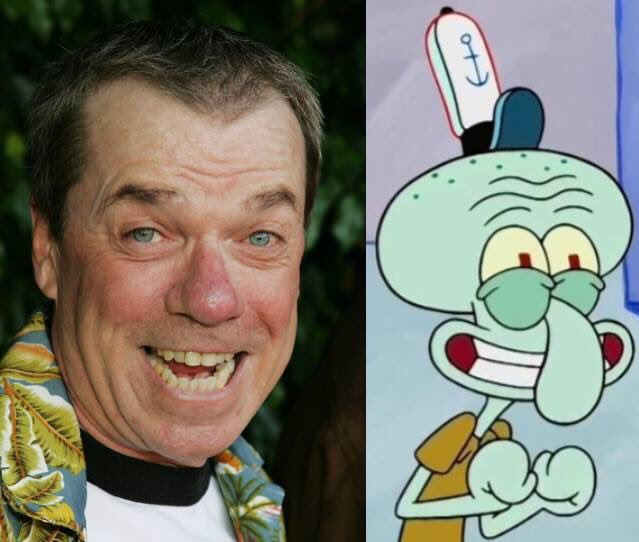 Happy 67th Birthday to Rodger Bumpass! The voice of Squidward Tentacles in SpongeBob SquarePants.
