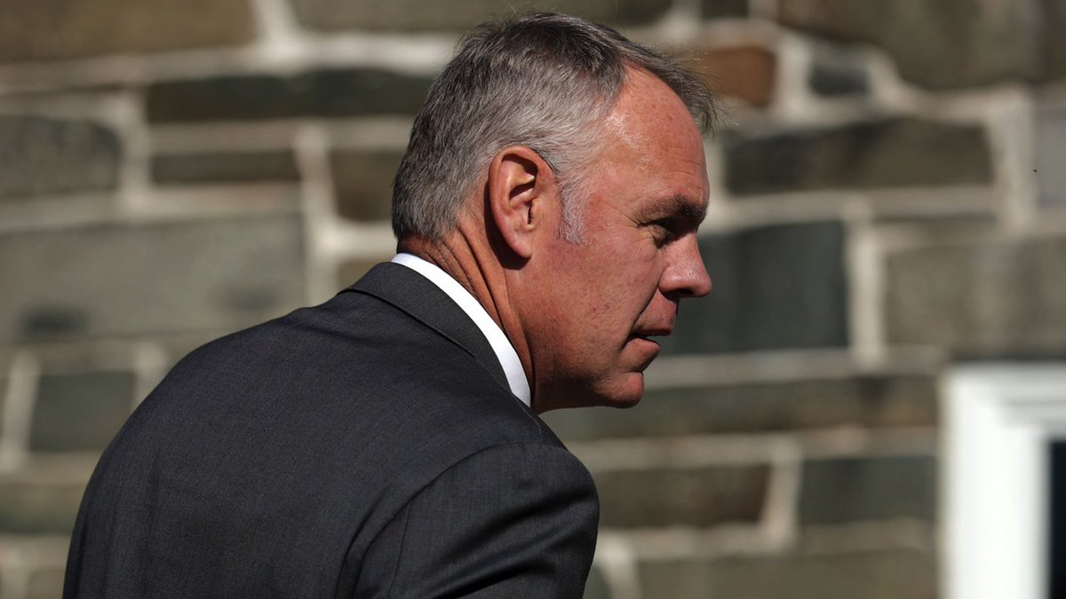 Ryan Zinke blames 'radical environmentalists' for the Camp Fire that's killed 79 people so far https://t.co/NuXEO1OXBp
