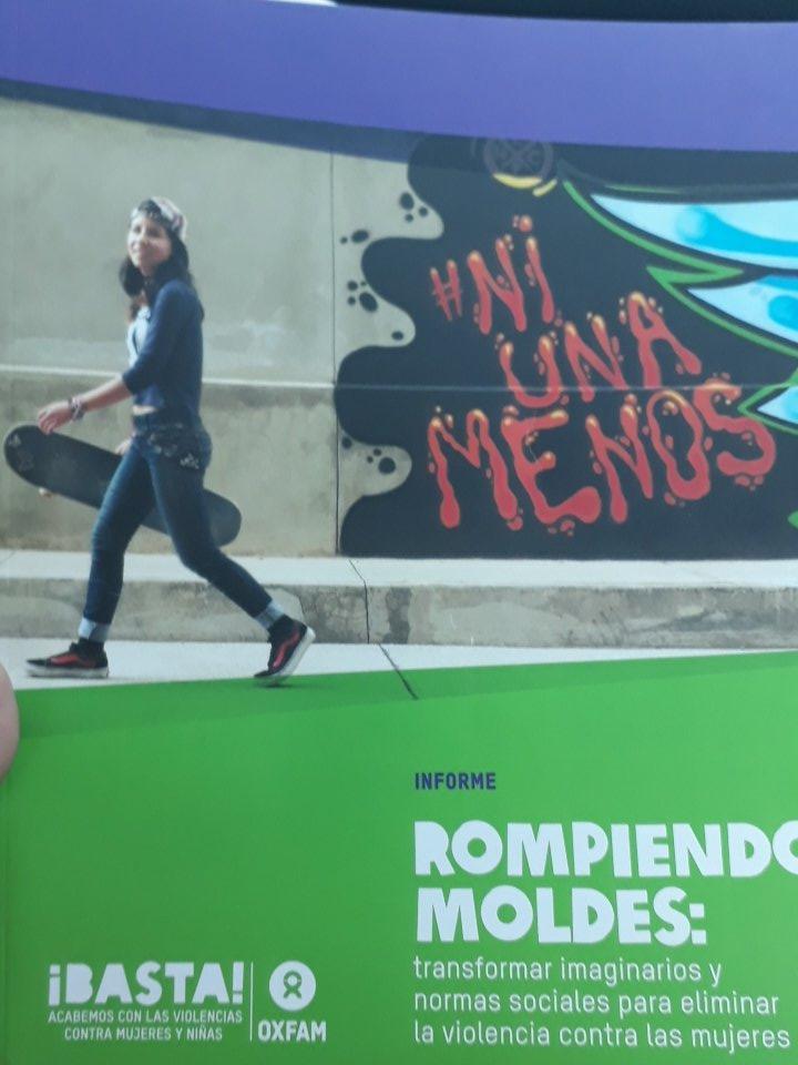 El informe toma datos sobre jovenes e imaginarios sociales en 8 países de la región. Sería fundamental, contar con ese diagnóstico en la Argentina. @OxfamIntermon @latfemnoticias. Me voy con mil preguntas en la cabeza. Gracias, @florencialcaraz 💚