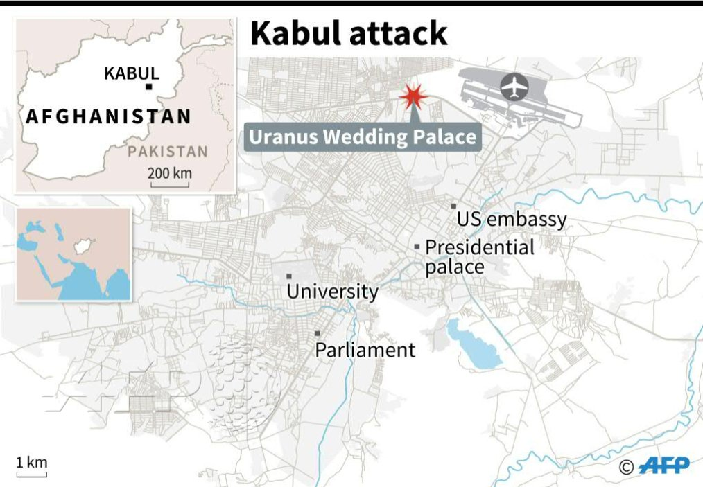 #UPDATE At least 40 killed in suicide attack on Kabul religious gathering: officials https://t.co/Md3IWqLPeg
