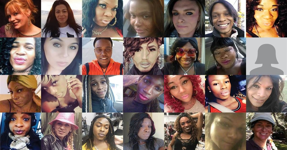 Today is #TransDayofRemembrance. Of the 22 transgender lives lost since the beginning of 2018, the victims are mostly young, mostly female and mostly black. via @julieallmighty nbcnews.com/feature/nbc-ou… #transgenderdayofremembrance #TDOR2018 #TDOR